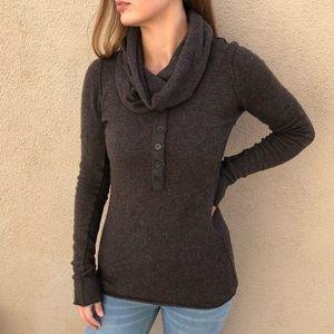 Inhabit Cashmere Cowl Neck Sweater